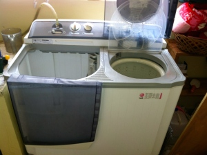 My friend, Shawn's, washing machine